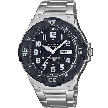 CASIO Collection Silver Stainless Steel Bracelet