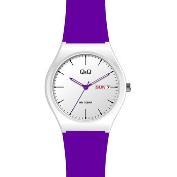 Q&Q Ladies Purple Silicone