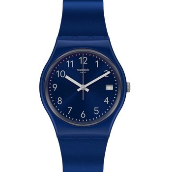 SWATCH Silver in Blue