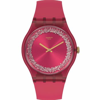 SWATCH Ruby Rings Red