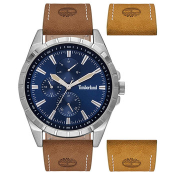 TIMBERLAND Boxbourough Brown Leather Strap Gift Set