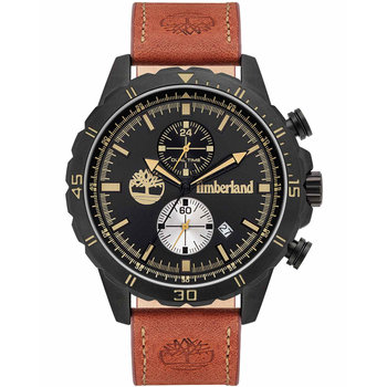 TIMBERLAND Dunford Brown Leather Strap