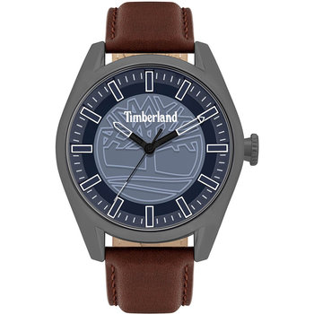 TIMBERLAND Ashfield Brown Leather Strap