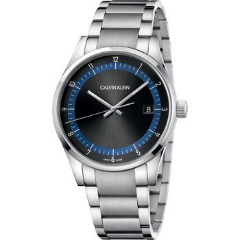 CALVIN KLEIN completion silver stainless steel bracelet