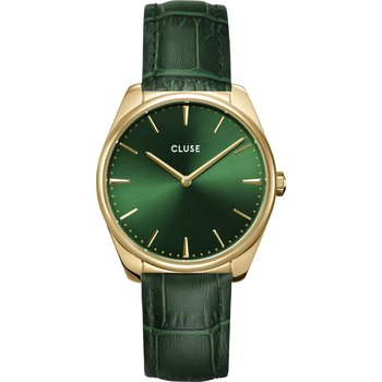 CLUSE Feroce Green Leather