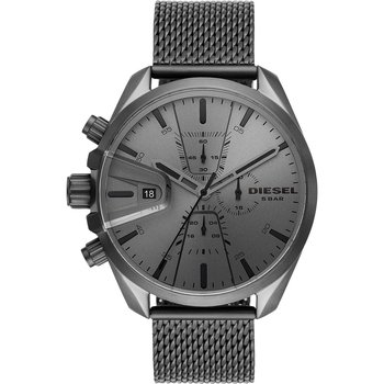 DIESEL MS9 Chronograph Grey Stainless Steel Bracelet