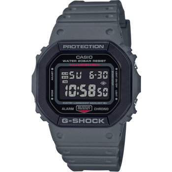 CASIO G-SHOCK Chronograph Grey Rubber Strap