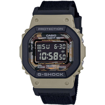 CASIO G-SHOCK Chronograph Black Fabric Strap Gift Set