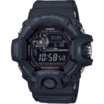 CASIO G-SHOCK Solar Chronograph Black Rubber Strap