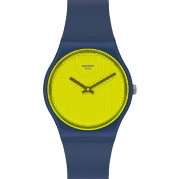 SWATCH Yellowpusher Blue