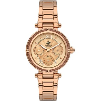BEVERLY HILLS POLO CLUB Rose Gold Stainless Steel Bracelet