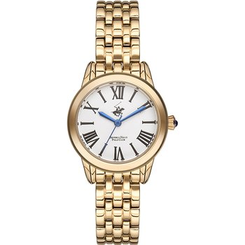 BEVERLY HILLS POLO CLUB Gold Stainless Steel Bracelet