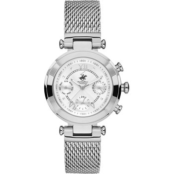 BEVERLY HILLS POLO CLUB Silver Stainless Steel Bracelet