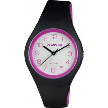 XONIX Ladies Black Rubber