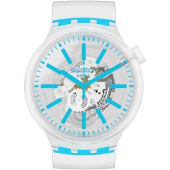 SWATCH Blueinjelly White