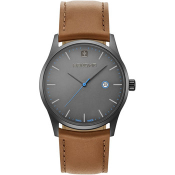 HANOWA Carlo Signature Brown Leather Strap