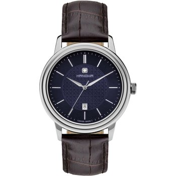 HANOWA Emil Brown Leather Strap