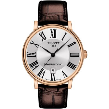 TISSOT Carson Automatic Brown Leather Strap