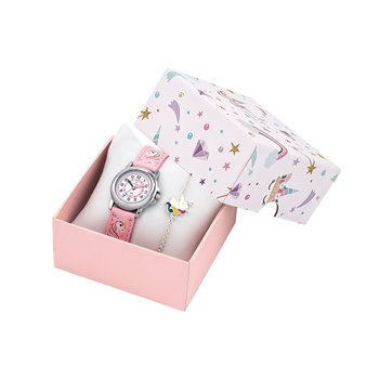 CERTUS Kids Pink Leather Strap