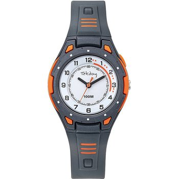 TEKDAY Men Grey Plastic Strap