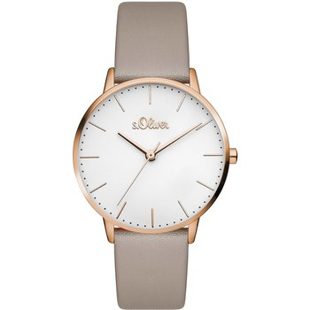 s.Oliver Ladies Beige Leather