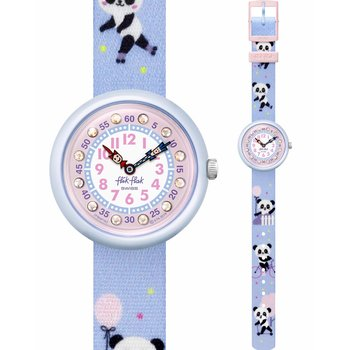 FLIK FLAK City of Life Pandi Panda Multicolor Fabric Strap