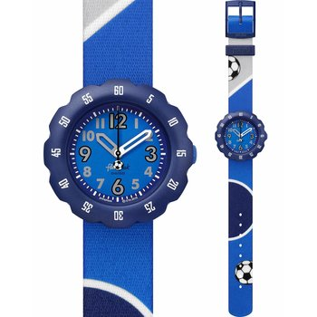 FLIK FLAK City of Life Kick It ! Blue Fabric Strap