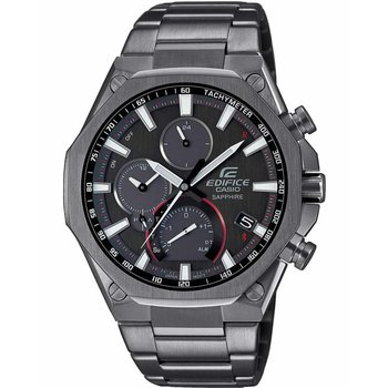 CASIO Edifice Chronograph Grey Stainless Steel Bracelet