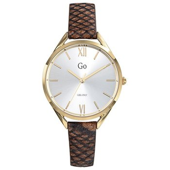 GO Ladies Brown Leather Strap