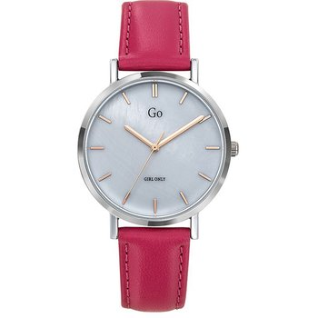 GO Ladies Red Leather Strap