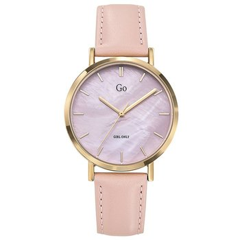 GO Girl Only Beige Leather Strap