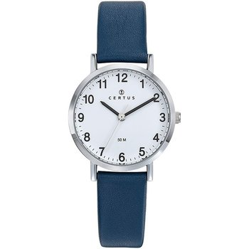 CERTUS Women Blue Leather Strap