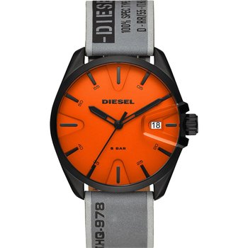 DIESEL MS9 Grey Fabric Strap