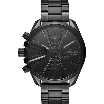 DIESEL MS9 Chronograph Black Stainless Steel Bracelet