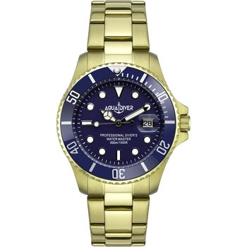 AQUADIVER Water Master Gold Stainless Steel Bracelet 300M