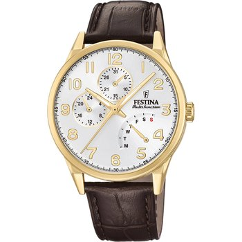 FESTINA Gents Brown Leather