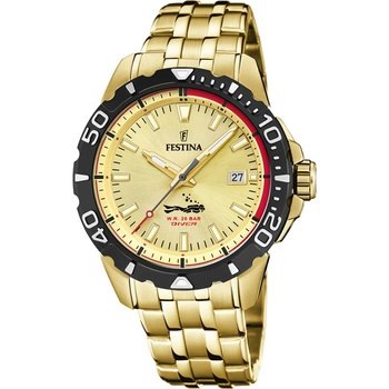 FESTINA Gents Gold Stainless