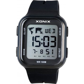 XONIX Mens Chronograph Black