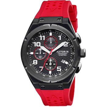 AZTORIN Sport Chronograph Red