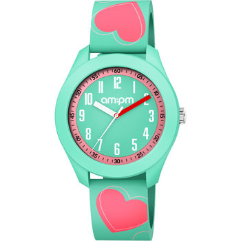 AM:PM Kids Green Silicone Strap
