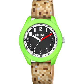 AM:PM Kids Brown Silicone Strap