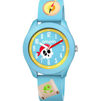AM:PM Kids Light Blue Silicone Strap