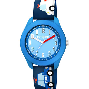 AM:PM Kids Blue Silicone Strap