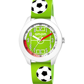 AM:PM Kids Green Football Silicone Strap