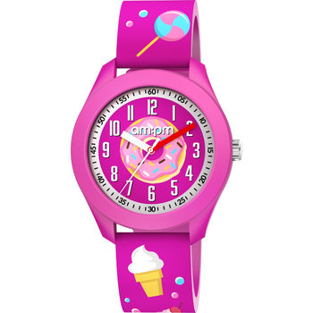 AM:PM Kids Fuchsia Silicone Strap