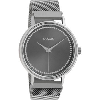 OOZOO Timepieces Grey Metallic Bracelet