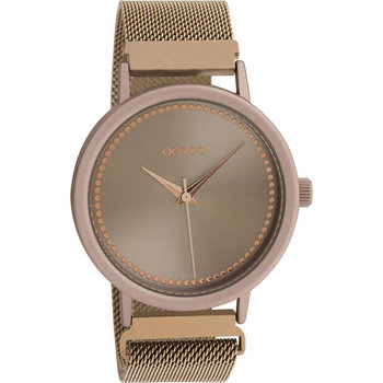 OOZOO Timepieces Brown Metallic Bracelet