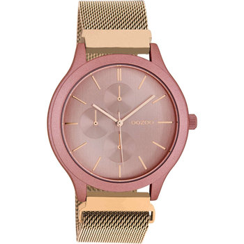 OOZOO Timepieces Rose Gold Metallic Bracelet