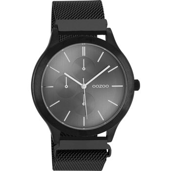 OOZOO Timepieces Black Metallic Bracelet