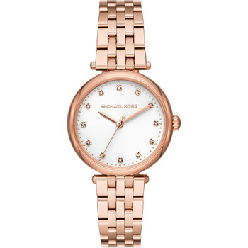 MICHALE KORS Darci Diamonds Rose Gold Stainless Steel Bracelet